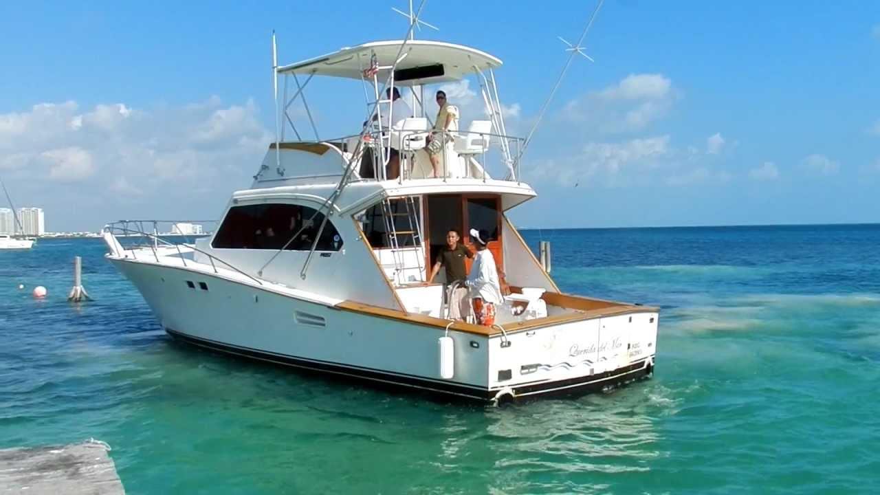 Hateras 48 yate de pesca deportiva cancun riviera maya - Fotos de yates ...