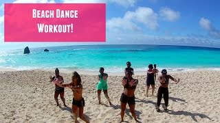 Fadda Fox- Ducking || Dance workout on the beach