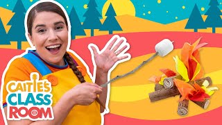 Let's Go Camping! | Caitie's Classroom | Camping for kids