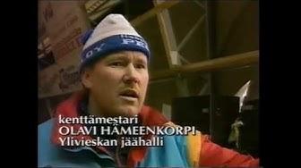 Ylivieskan jäähallin räjähdys 22.1.1995