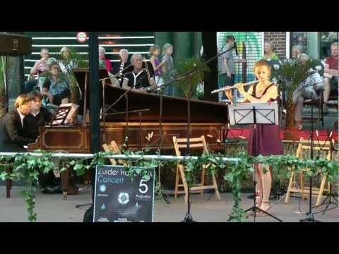 Valse Gracieuse (W. Popp) - Anne de Vries en Paul van Hasselt (Zuider Havendijk Concert 2011)