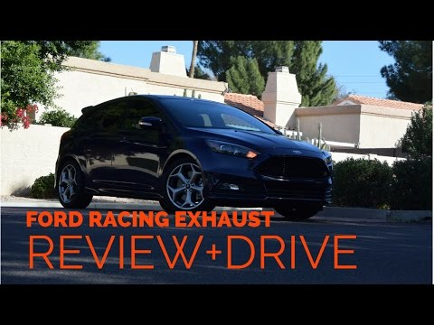 Ford Racing Sport Exhaust Review + Drive 2016 Ford Focus ST
