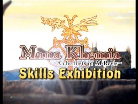 Mana Khemia Alchemist of Al-Revis Attacks Exhibition (English Voices)