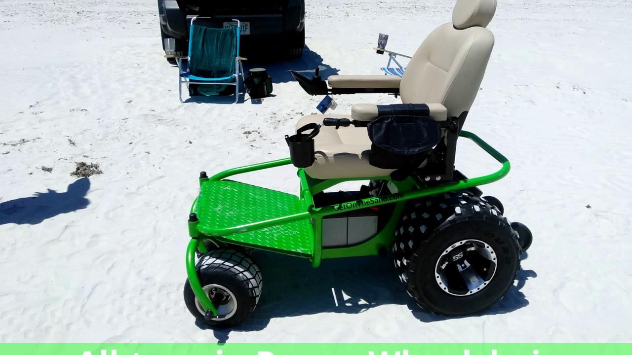 Mobility power wheelchairs all terrain allterrain for All terrain motorized wheelchairs