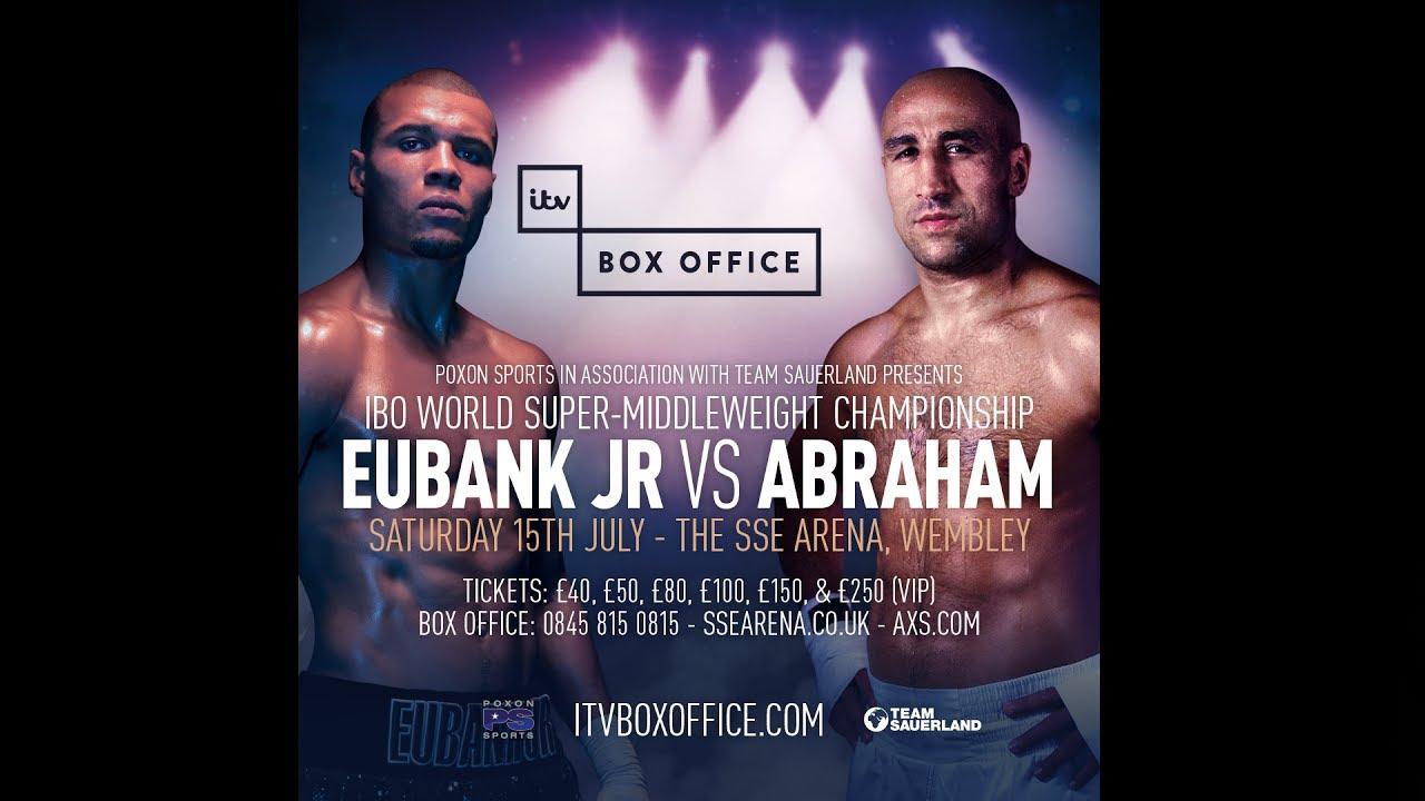 WATCH LIVE    Chris Eubank Jr. vs Arthur Abraham Live ...