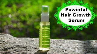 Double Hair Growth Serum That Makes Hair Grow Like Crazy | Must Watch