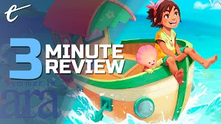Summer in Mara | Review in 3 Minutes (Video Game Video Review)