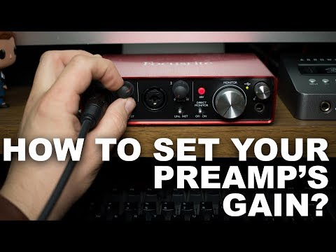 how-to-set-your-microphone's-gain-/-level-for-beginners-(faq-series)