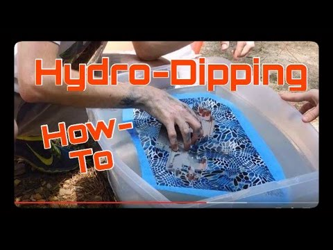 How To Do Hydro Dipping At Home Start To Finish Guide