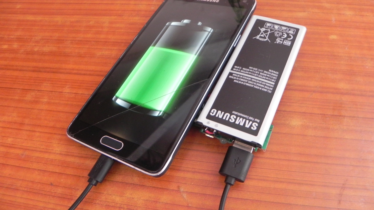 How To Make A Power Bank Using Old Phone Battery Youtube
