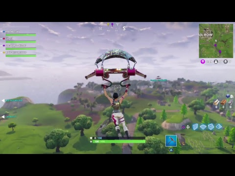 Fornite Battle Royal getting wins