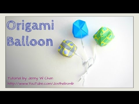 How To Fold Origami Ball Balloon Summer Crafts Kids Traditional