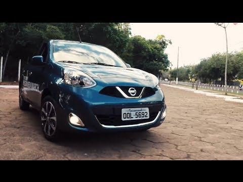 Avaliação Nissan March 1.6 SL | Canal Top Speed