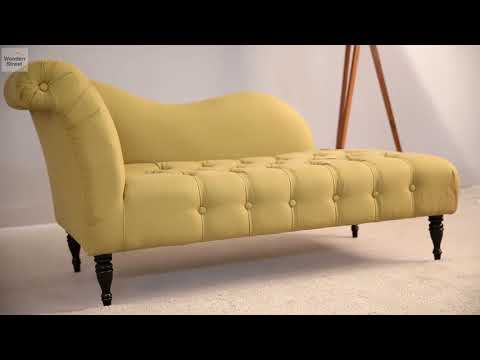 Crocus Chaise Lounge (Sandy Brown) by WoodenStreet From Rs 27,489