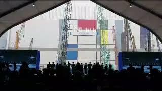 삼성전자 화성캠퍼스EUV 생산라인 기공식 행사 /조선일…
