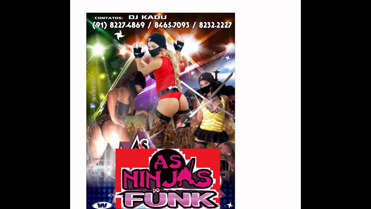Alluring girl! video ninja do funk it