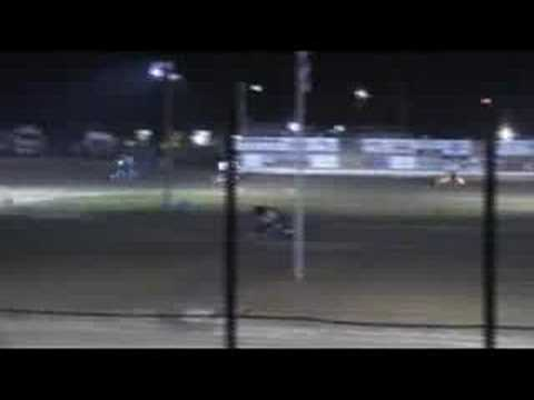 WHIP CITY SPEEDWAY : 250cc Youth Sprints Feature 9/20/08
