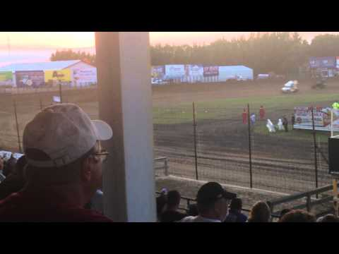 River Cities Speedway NOSA 410 Outlaw Sprints (1 of 2)