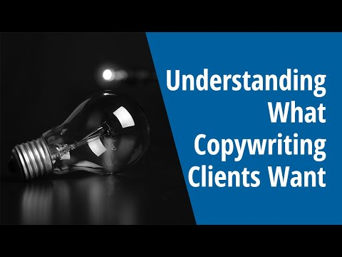 Understanding What Copywriting Clients Want: INSIDE AWAI