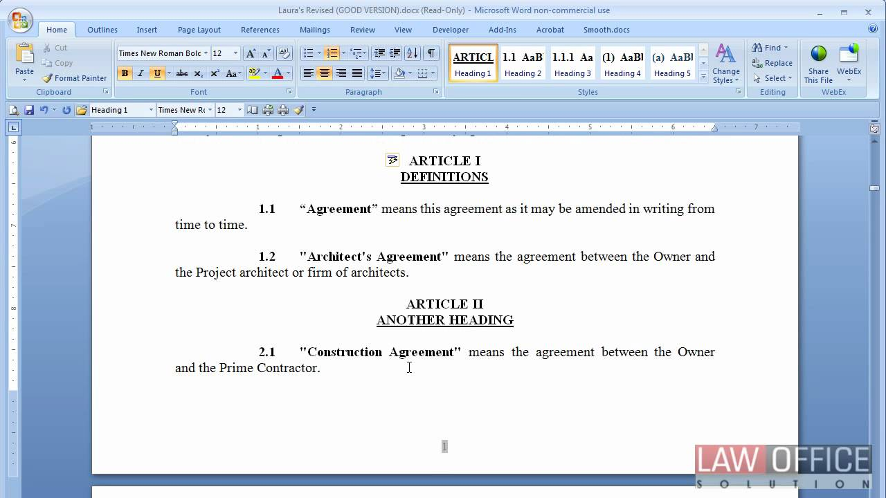 how to format a report in word 2007
