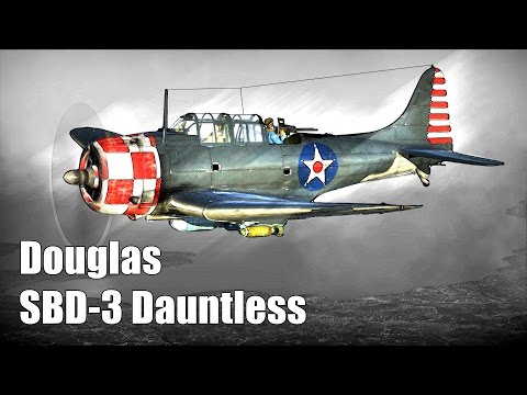 War Thunder: Tier-1, American Dive Bomber/Scout, Douglas SBD