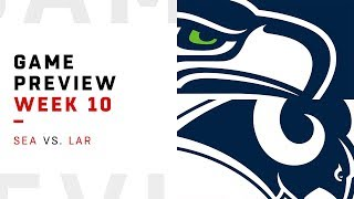 Seattle Seahawks vs. Los Angeles Rams | Week 10 Game Preview | Move the Sticks