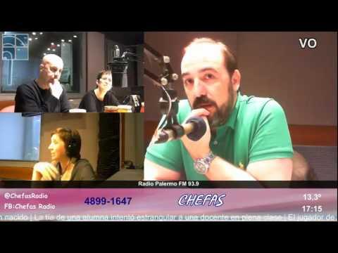 Chefas ... Agosto 2016 Radio Palermo