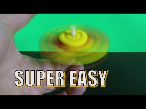 How to Make a LEGO Fidget Spinner - SUPER Easy LEGO Fidget Spinner Idea