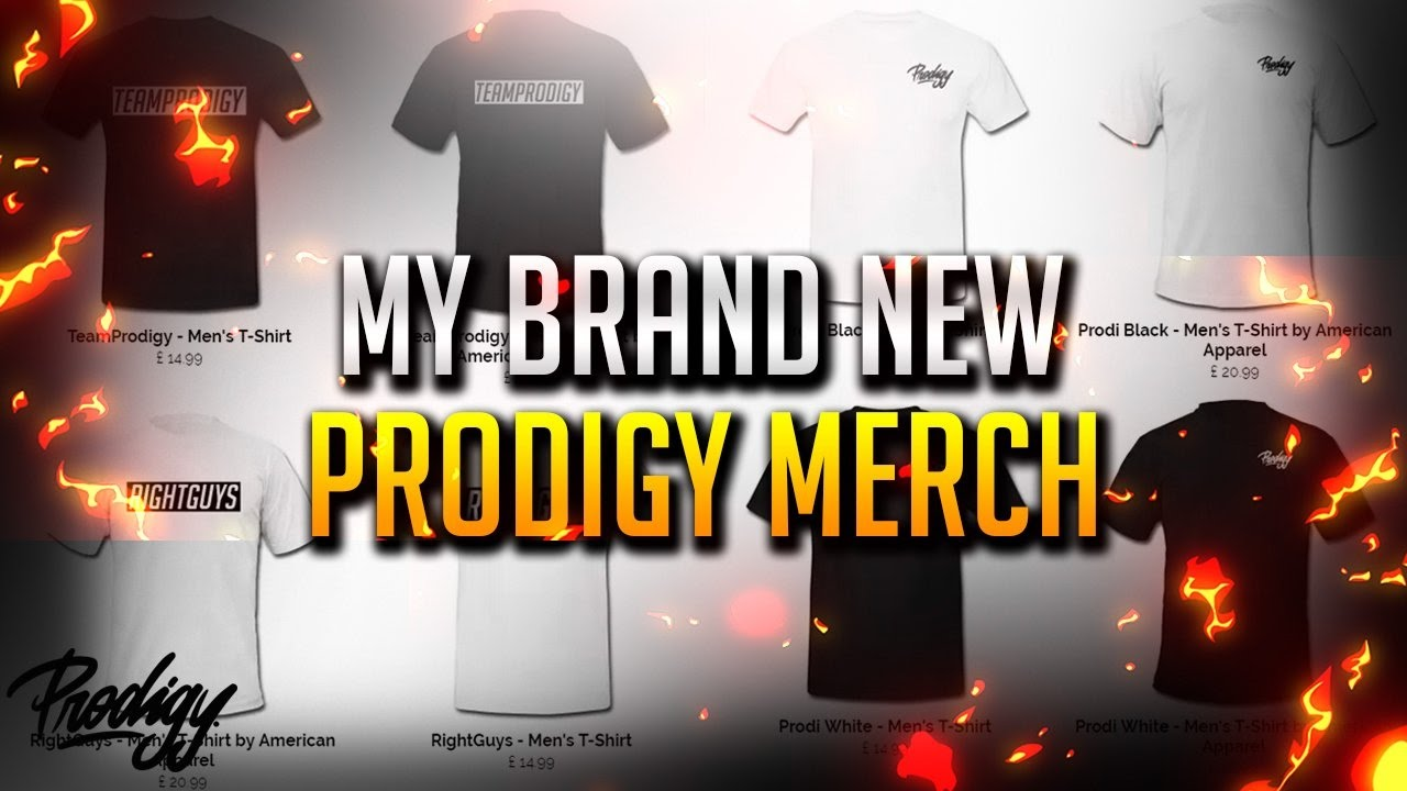 Brand New Prodigy Clothing! Prodigy Merchandise/Apparel - @UnityCreators #UnityRC2017