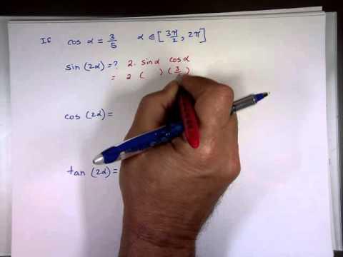 Double-Angle Formulas