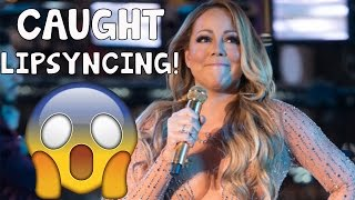 MARIAH CAREY CAUGHT LIPSYNCING ON NEW YEARS 2017! - EPIC FAIL!!