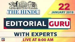 The Hindu | Editorial Guru | Jallikattu 2019 | 22 January 2019 | UPSC, RRB,Bank, IBPS, SSC | 8:00 AM