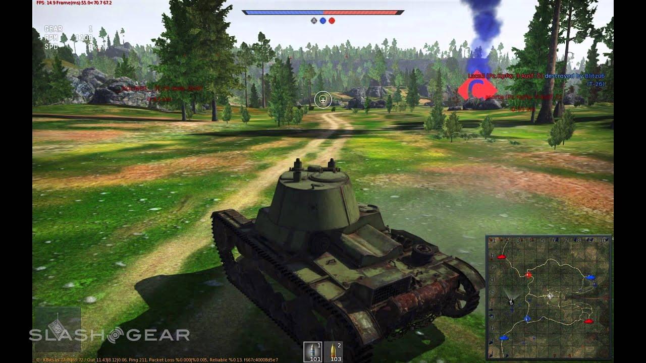 war thunder gameplay ground