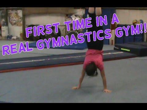 First Time In A Gymnastics Gym | Lydia The Gymnast