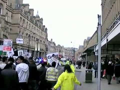 16 Jan 09 Halifax Friends of Palestine Free Gaza Demo