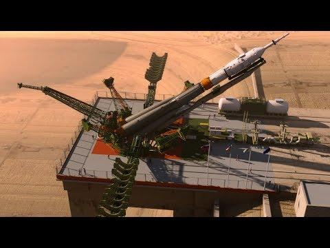 Soyuz Rocket Launch animation