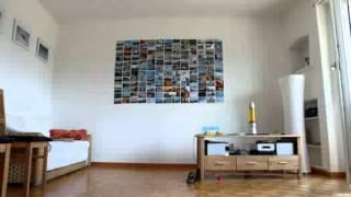 play kinderfotos urlaubsfotos und hochzeitsbilder als fotowand fotocollage selber machen. Black Bedroom Furniture Sets. Home Design Ideas