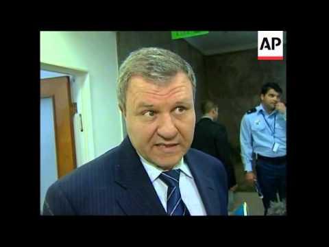 Weekly cabinet meeting, US envoy meets Shaul Mofaz