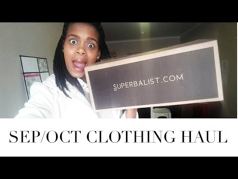 Sep/Oct Clothing Haul | Always Khalipha | South African YouTuber