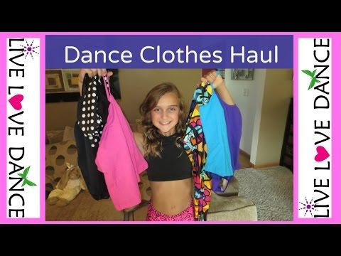 DANCE CLOTHES HAUL