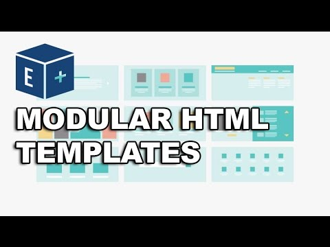 Create Modular HTML Templates From Photoshop PSD Files