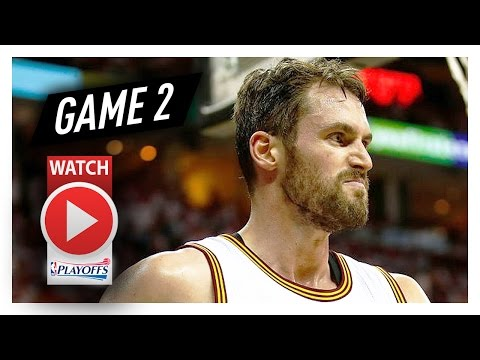 Kevin Love Full Game 2 Highlights vs Pacers 2017 Playoffs - 27 Pts, 11 Reb