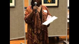 Illustrator Ekua Holmes of Voice of Freedom, Fannie Lou Hamer