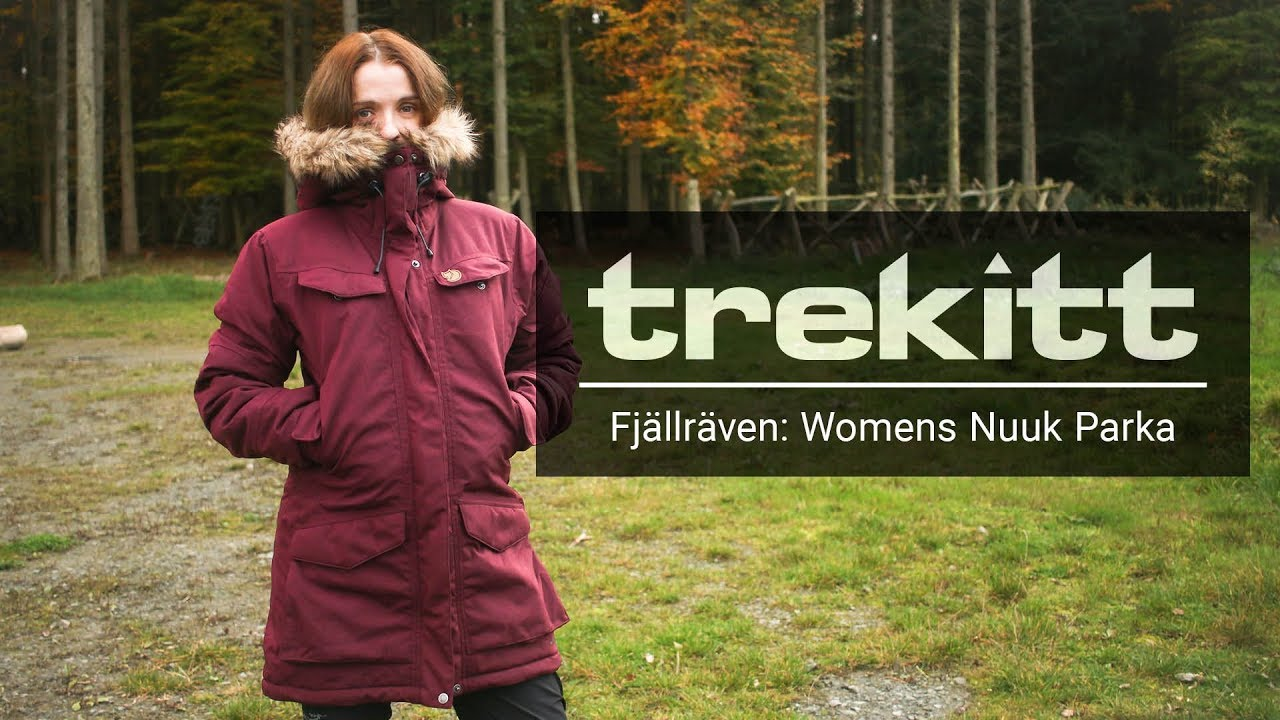 fd06b07a Inside Look: Fjallraven Womens Nuuk Parka - YouTube