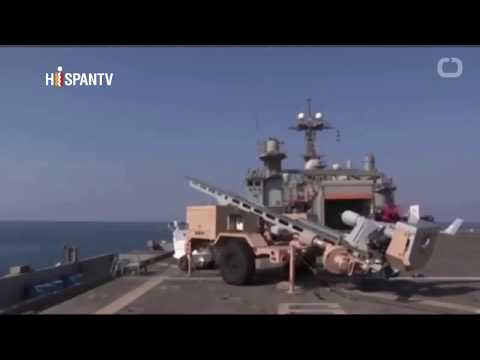MARINA DE USA PRUEBA SUPER ARMA LASER Y AUSTRALIA PRUEBA MISIL
