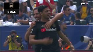 Carlos Vela opens the scoring against LA Galaxy