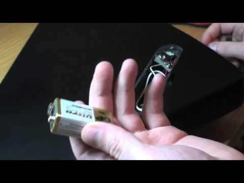 Epiphone Explorer EMG Change battery