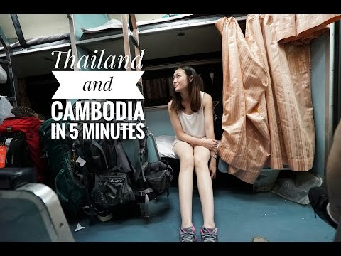 Thailand & Cambodia in 5 Minutes | Travel With My Dear