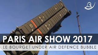 Le Bourget Under Air Defence 'Bubble' During Paris Air Show