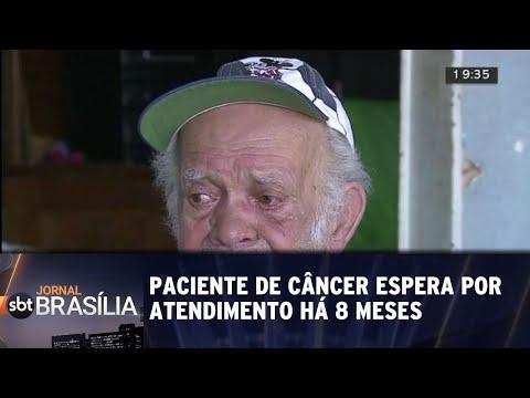 Paciente de câncer espera por atendimento há 8 meses | Jornal SBT Brasília 23/05/2018